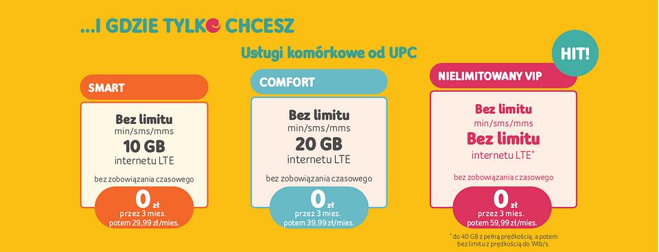 Promocja UPC