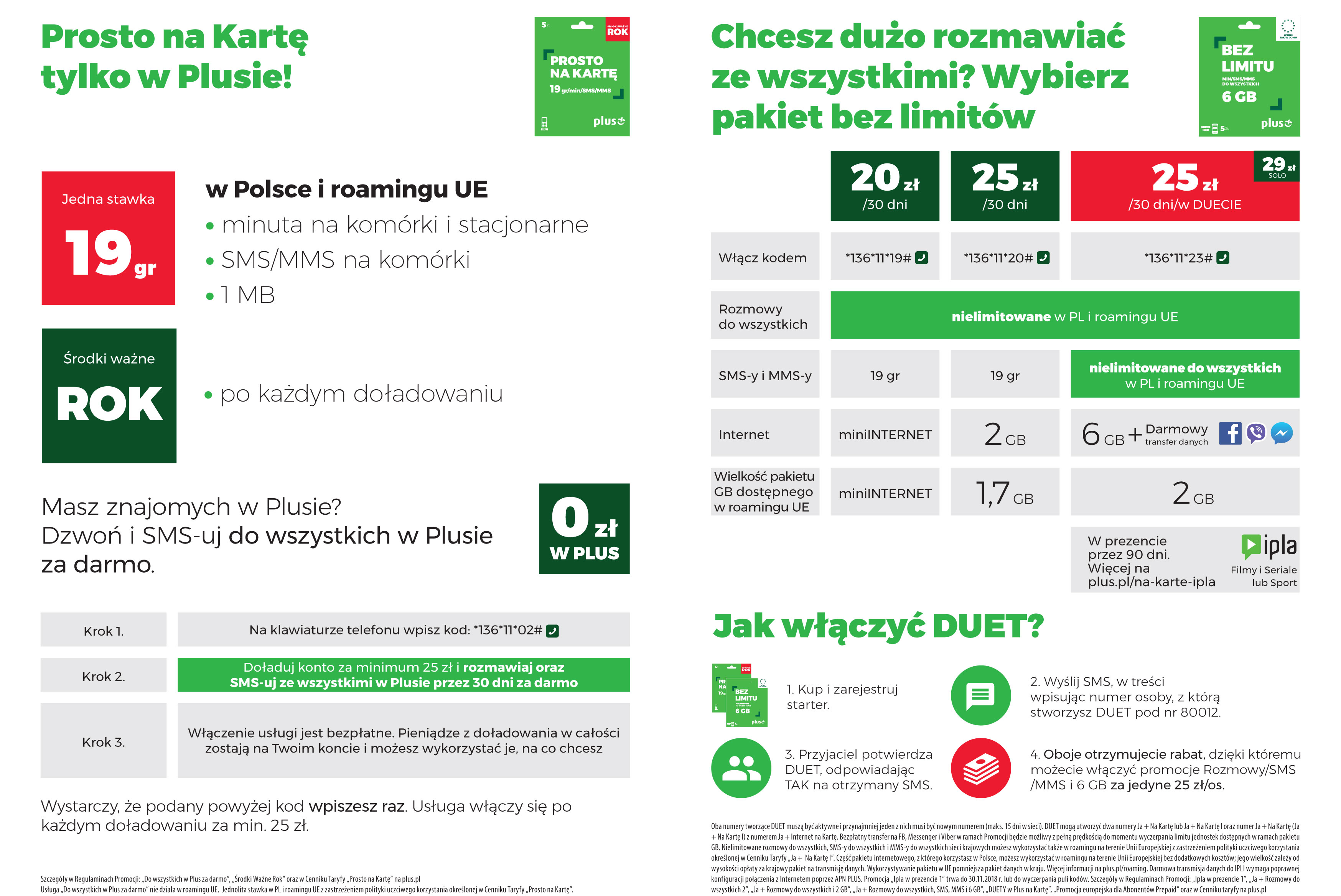 kody promocyjne kupować tanio najlepsze trampki Prosto Na Kartę - nowa oferta prepaid Plusa
