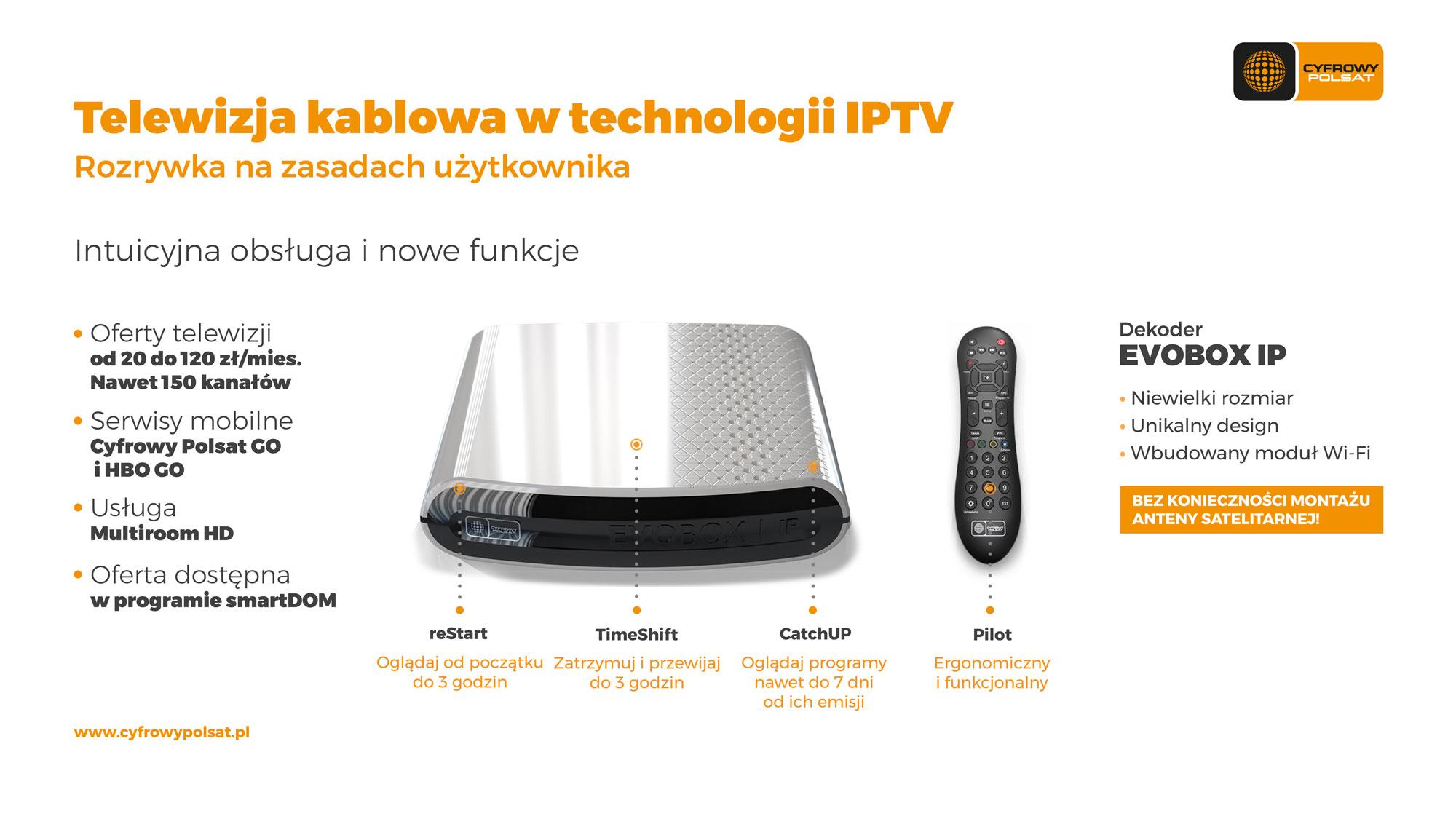 Telewizja Na Karte Polsat.Cyfrowy Polsat Wprowadza Dekoder Iptv Z Pełną Ofertą Który Będzie