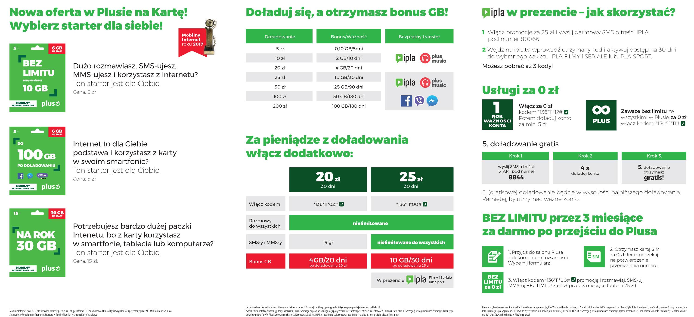 50% ceny świeże style dobra tekstura Elastyczna Na Kartę - nowa taryfa prepaid w Plusie
