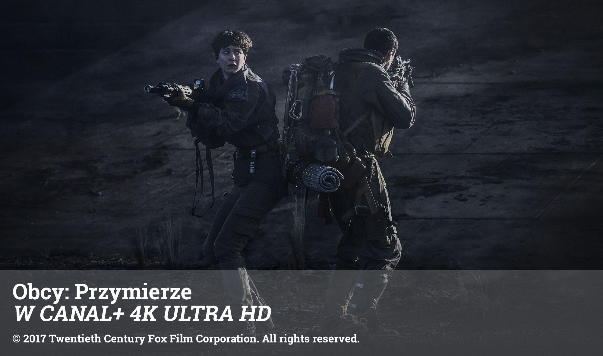 Obcy: Przymierze W CANAL+ 4K ULTRA HD