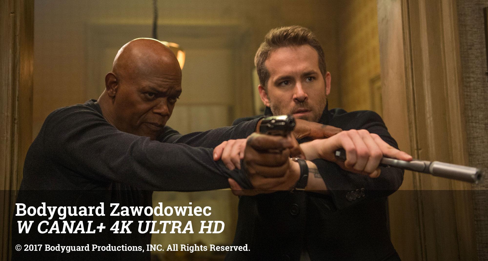 Bodyguard Zawodowiec W CANAL+ 4K ULTRA HD