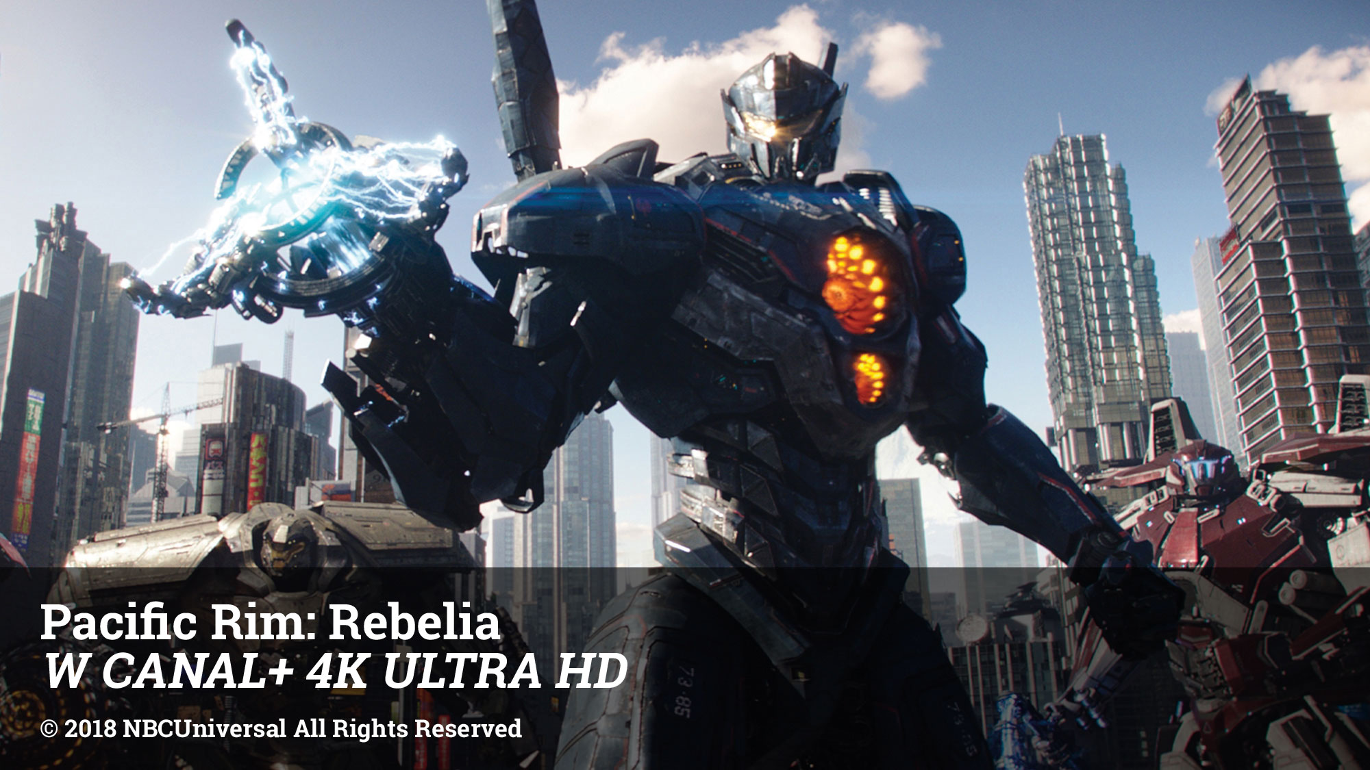 Pacific Rim: Rebelia W CANAL+ 4K ULTRA HD