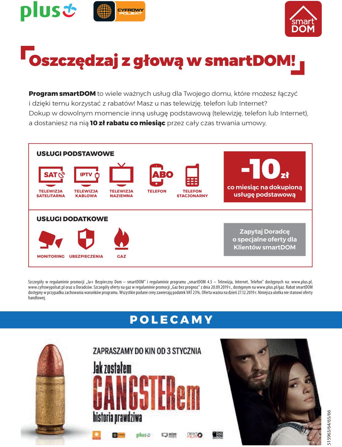 Reklama Plusa: Pakiet na nowy rok