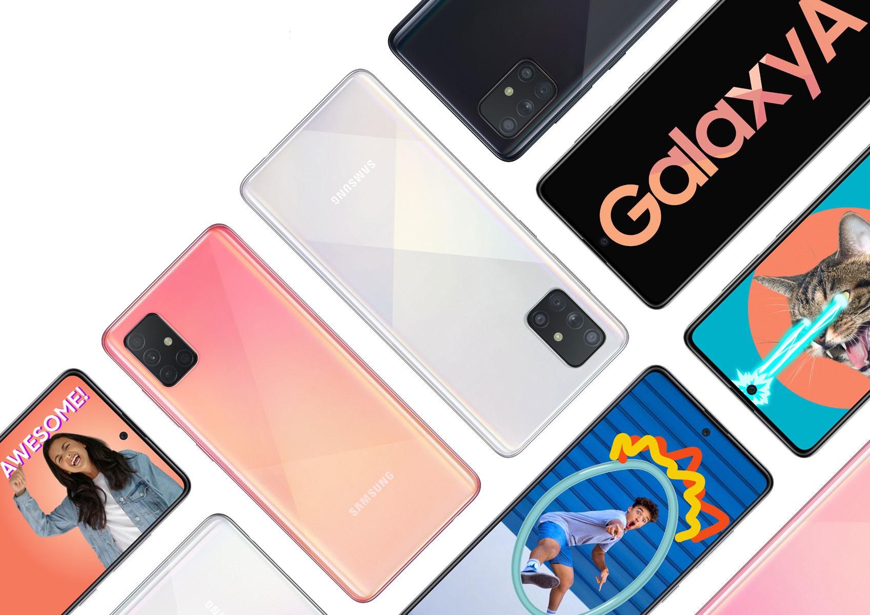 Samsung Galaxy A51 i Galaxy A71