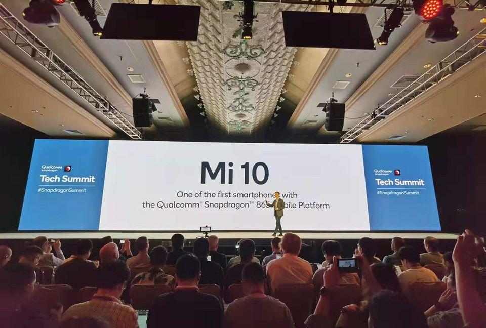 Xiaomi Mi 10 z procesorem Snapdragon 865