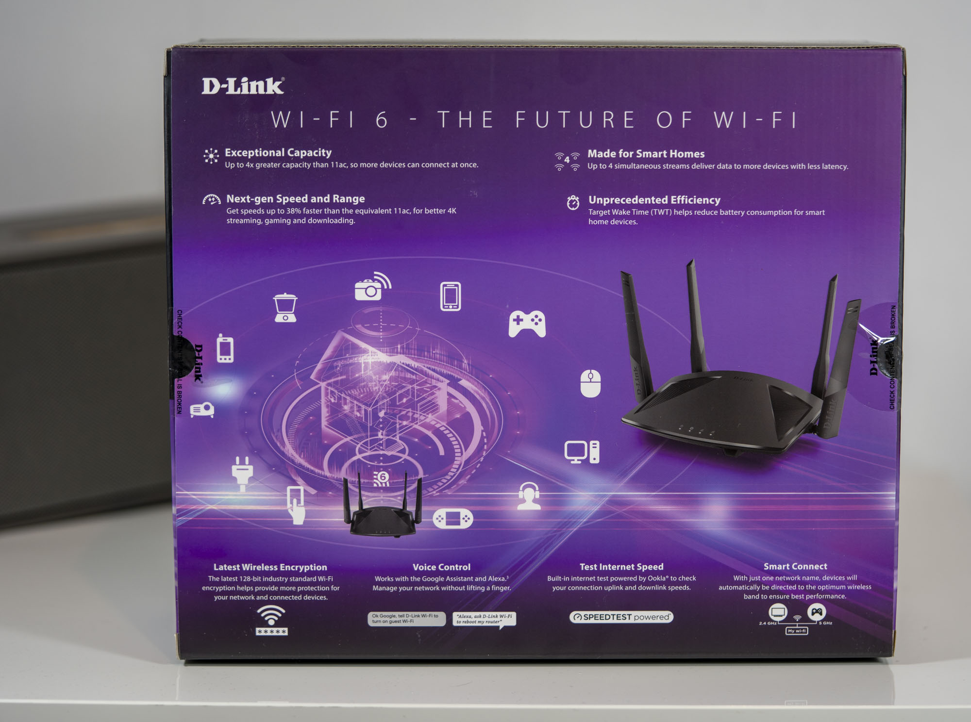 D-Link EXO AX AX1800 Wi-Fi 6 Router