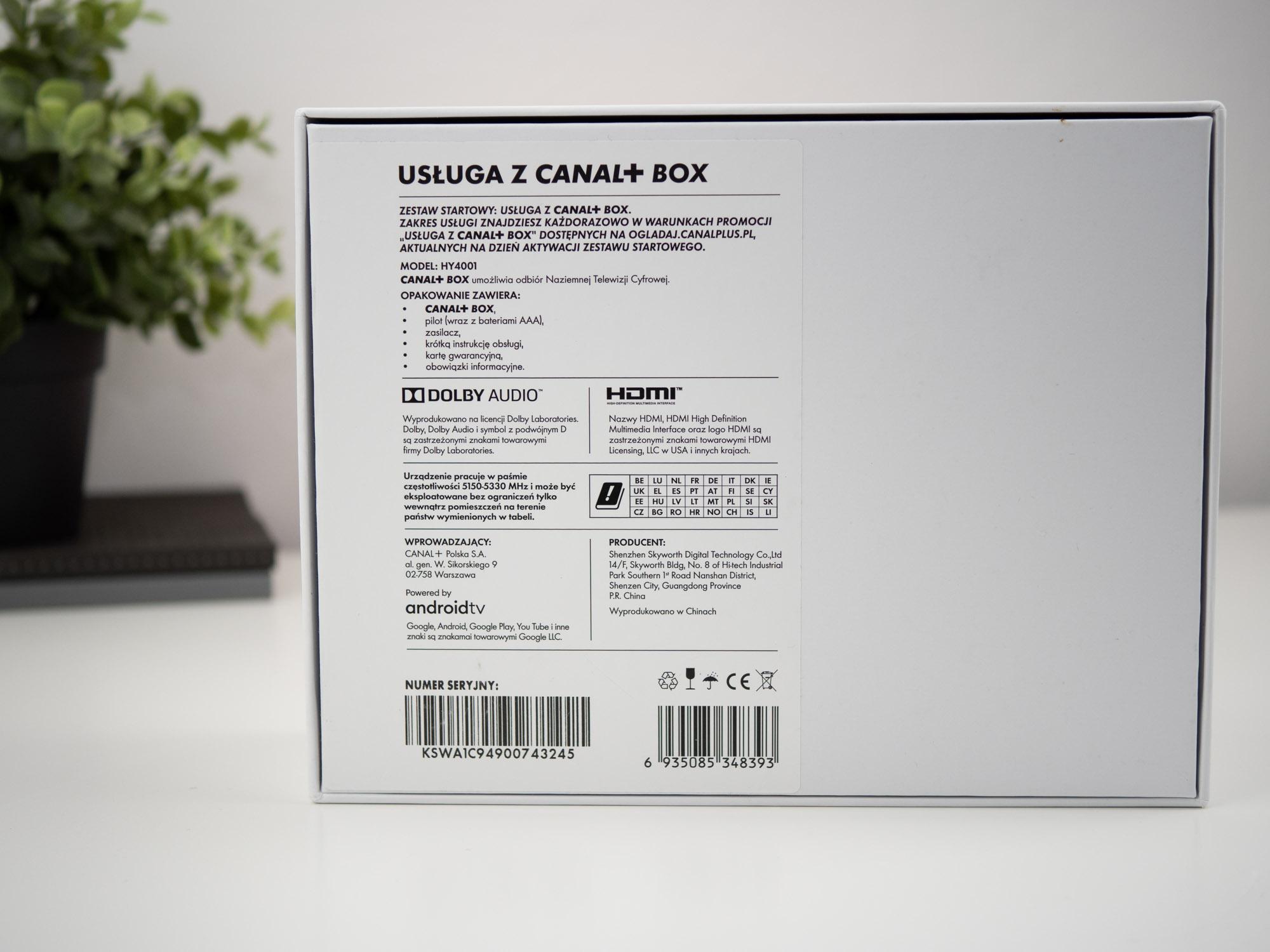 CANAL+ BOX