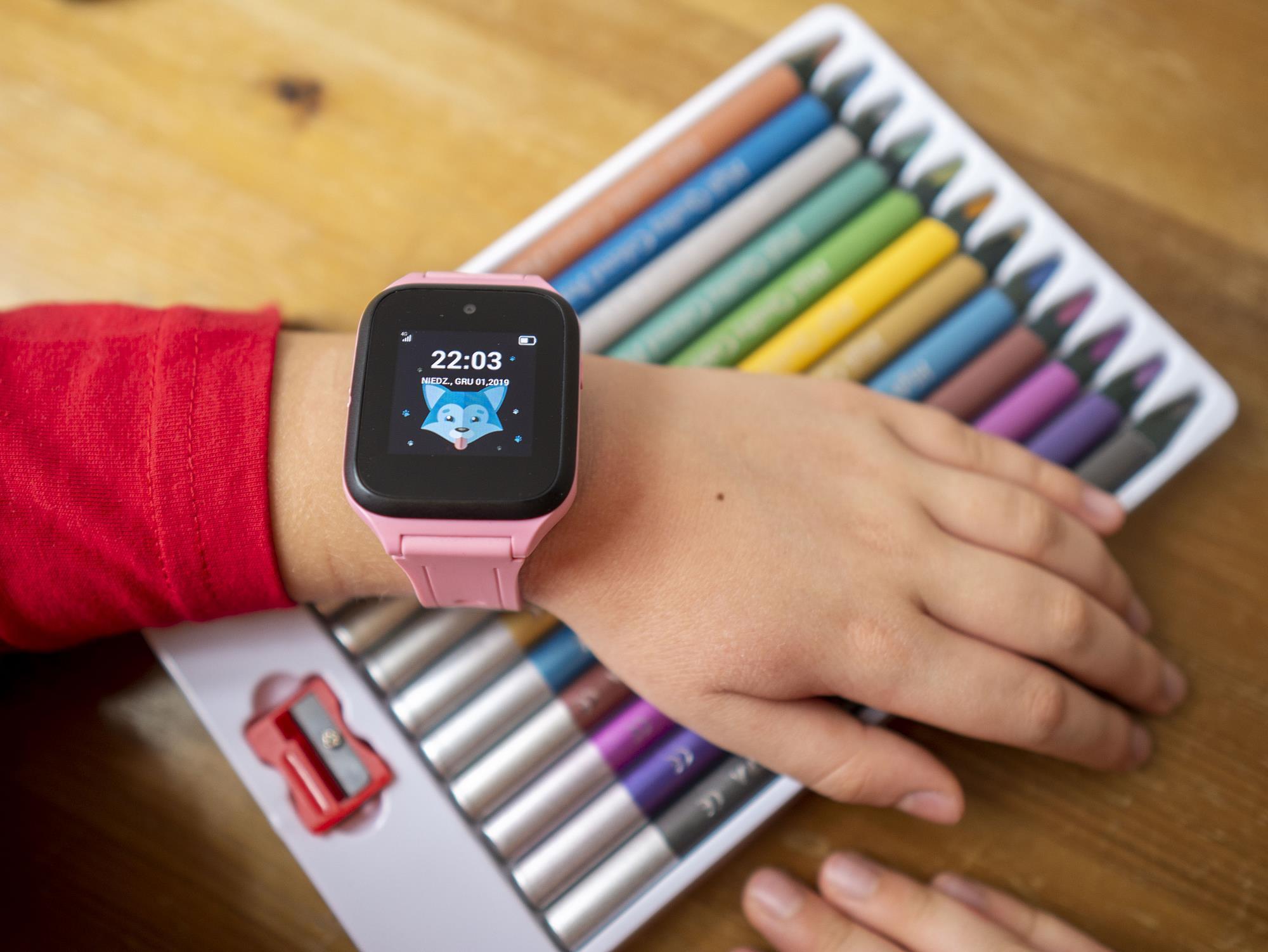 alcatel tcl zegarek gps dla dziecka cena
