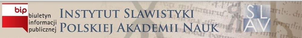 Baner BIP Instytutu Slawistyki Polskiej Akademii Nauk