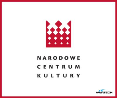 Grafika z logiem Narodowe Centrum Kultury