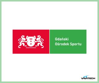 Grafika przedstawiająca logo Gdańskiego Ośrodka Sportu