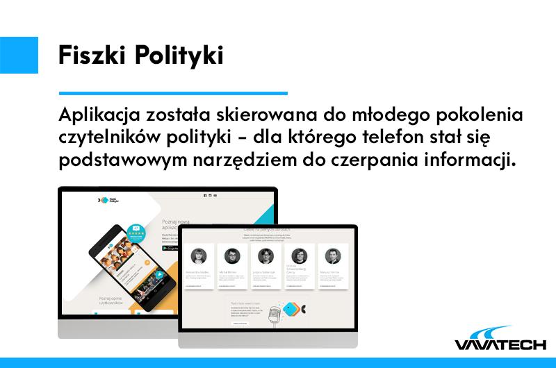 Fiszki Polityki to aplikacja mobilna współtworzona przez Vavatech i Google