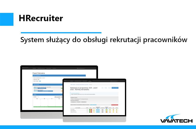 Sytem rekrutacyjny stworzony przez Vavatech przy użyciu technologii Java 8, JSF, MySQL, Hibrenate, Wildfly, Spring, PrimeFaces