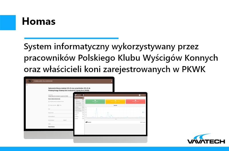 System składający się z dwóch aplikacji, stworzony przez Vavatech przy użyciu technologii Java, JavaEE, Spring, Hibernate, JSF, PrimeFaces, Vue