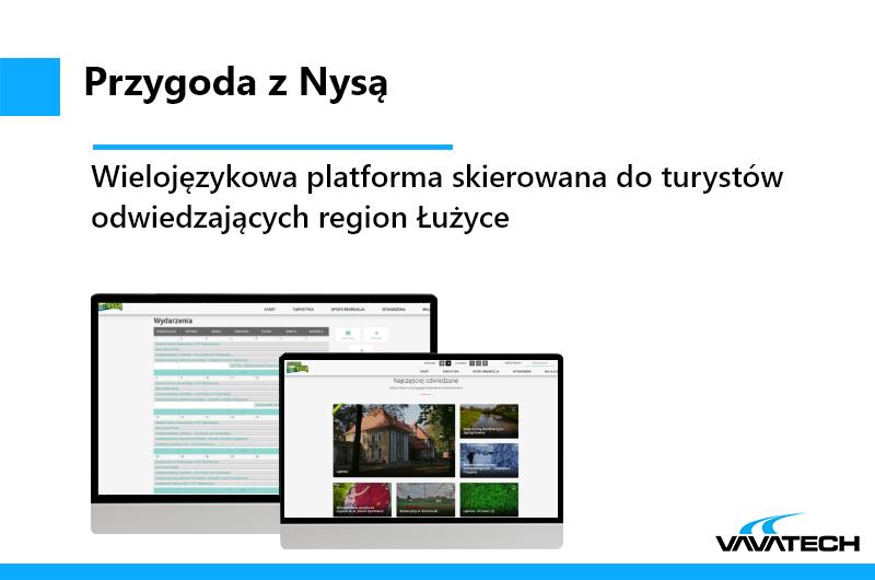 Jest to platforma internetowa stworzona przez Vavatech przy użyciu PHP, Wordpressa oraz Nginx