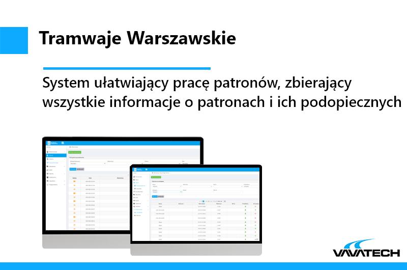 Wewnetrzy system utworzony przez Vavatech dla klienta przy użyciu Spring, JSF, Hibernate, JQuery i Microsoft Azure