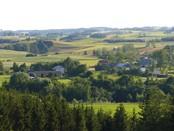 Widok z G. Jesionowej na Leszczewo i Wołownię