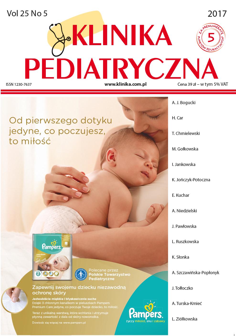 KP 5/2017 Pediatria Ogólna