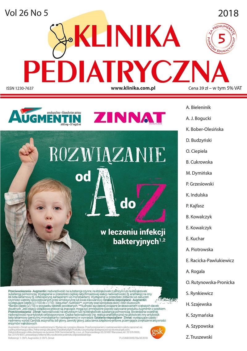KP 5/2018 PEDIATRIA OGÓLNA