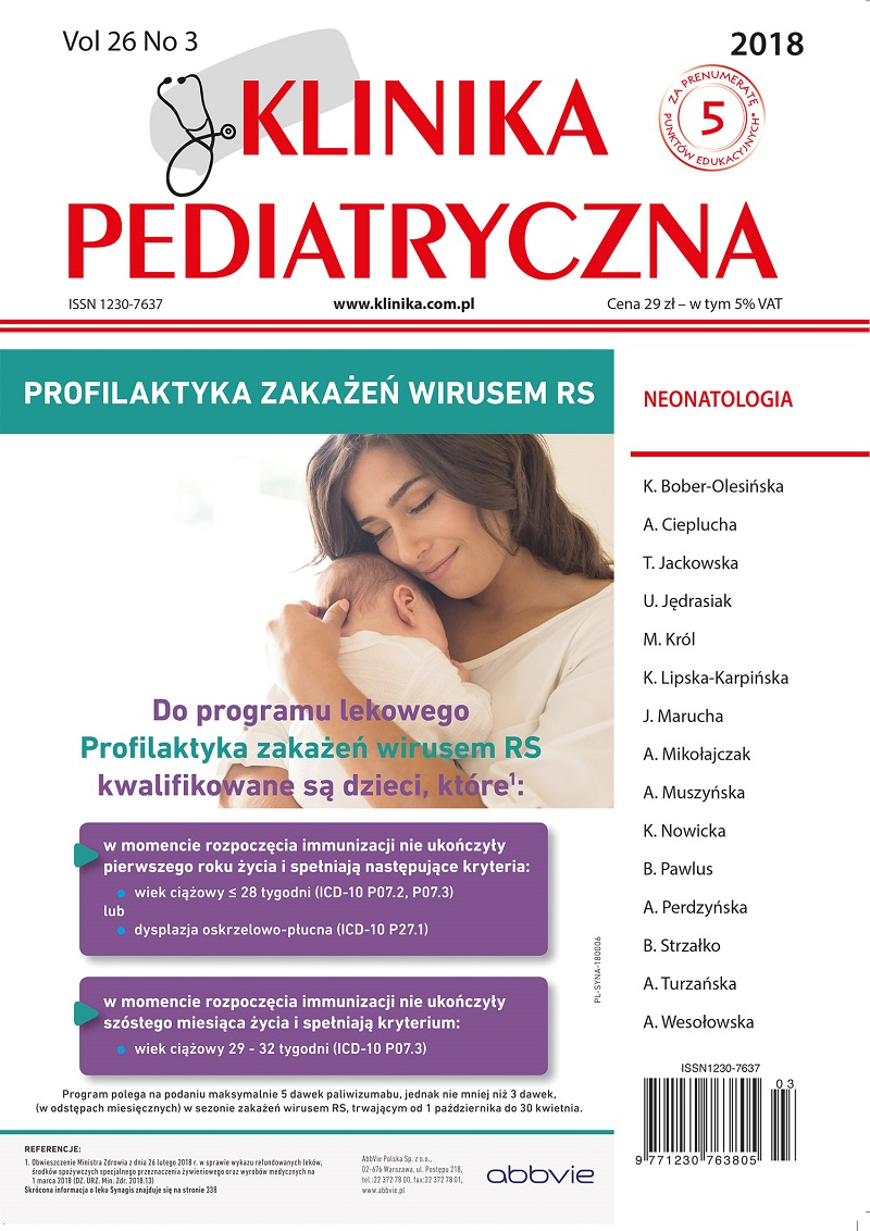 KP 3/2018 Neonatologia