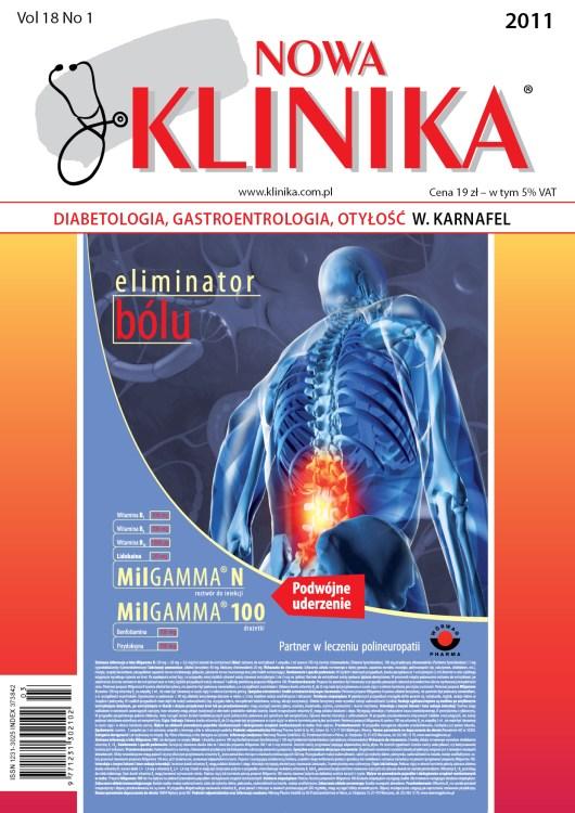 KN 2011/1 - Diabetologia / Gastroenterologia / Otyłość