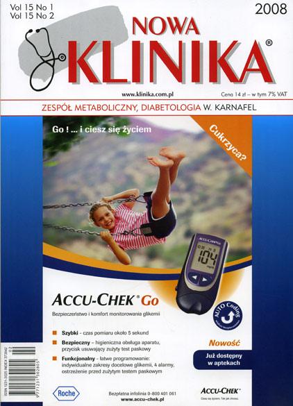 KN 2008/1-2 - Zespół Metaboliczny / Diabetologia