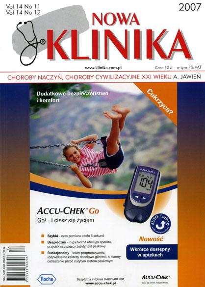 KN 2007/11-12 - Choroby naczyń / Choroby cywilizacyjne XXI wieku