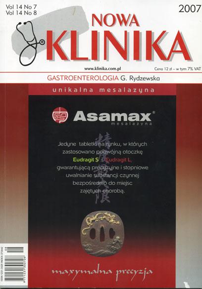 KN 2007/07-08 - Gastroenterologia