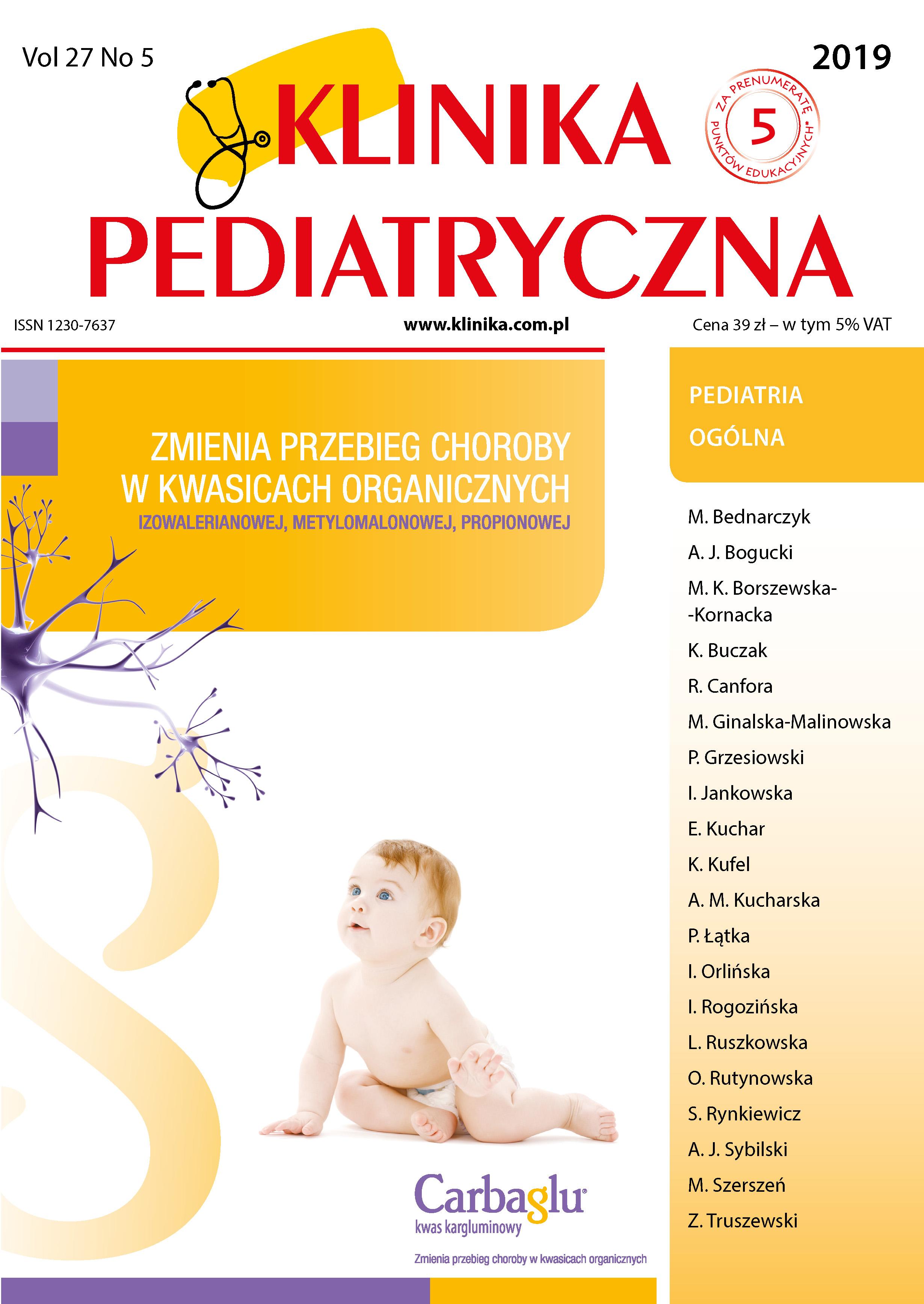 KP 5/2019 Pediatria Ogólna