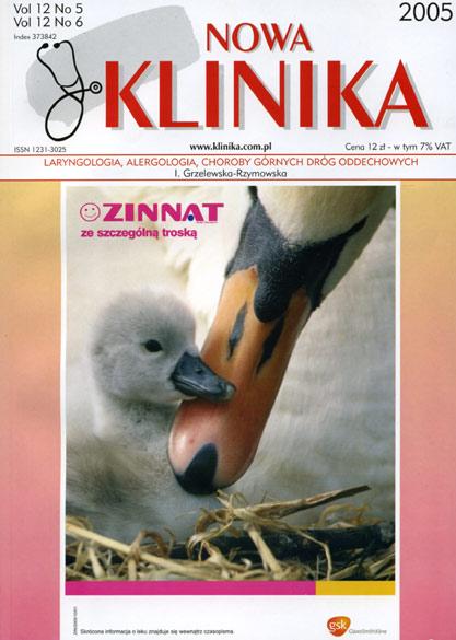 KN 2005/05-06 - Laryngologia, Alergologia, Choroby górnych dróg oddech