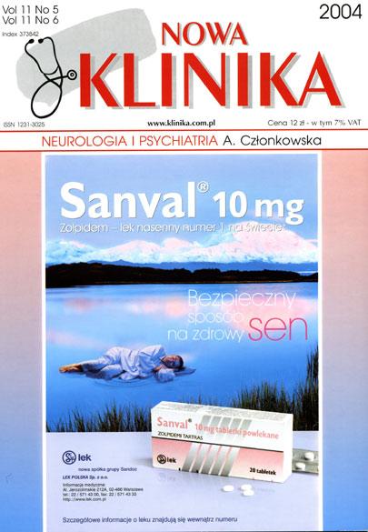 KN 2004/05-06 - Neurologia, Psychiatria