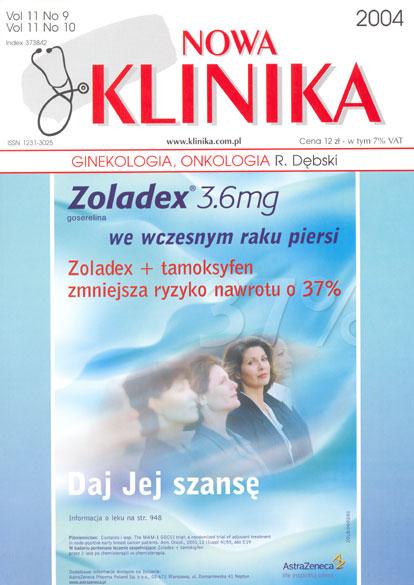 KN 2004/09-10 - Ginekologia, Onkologia