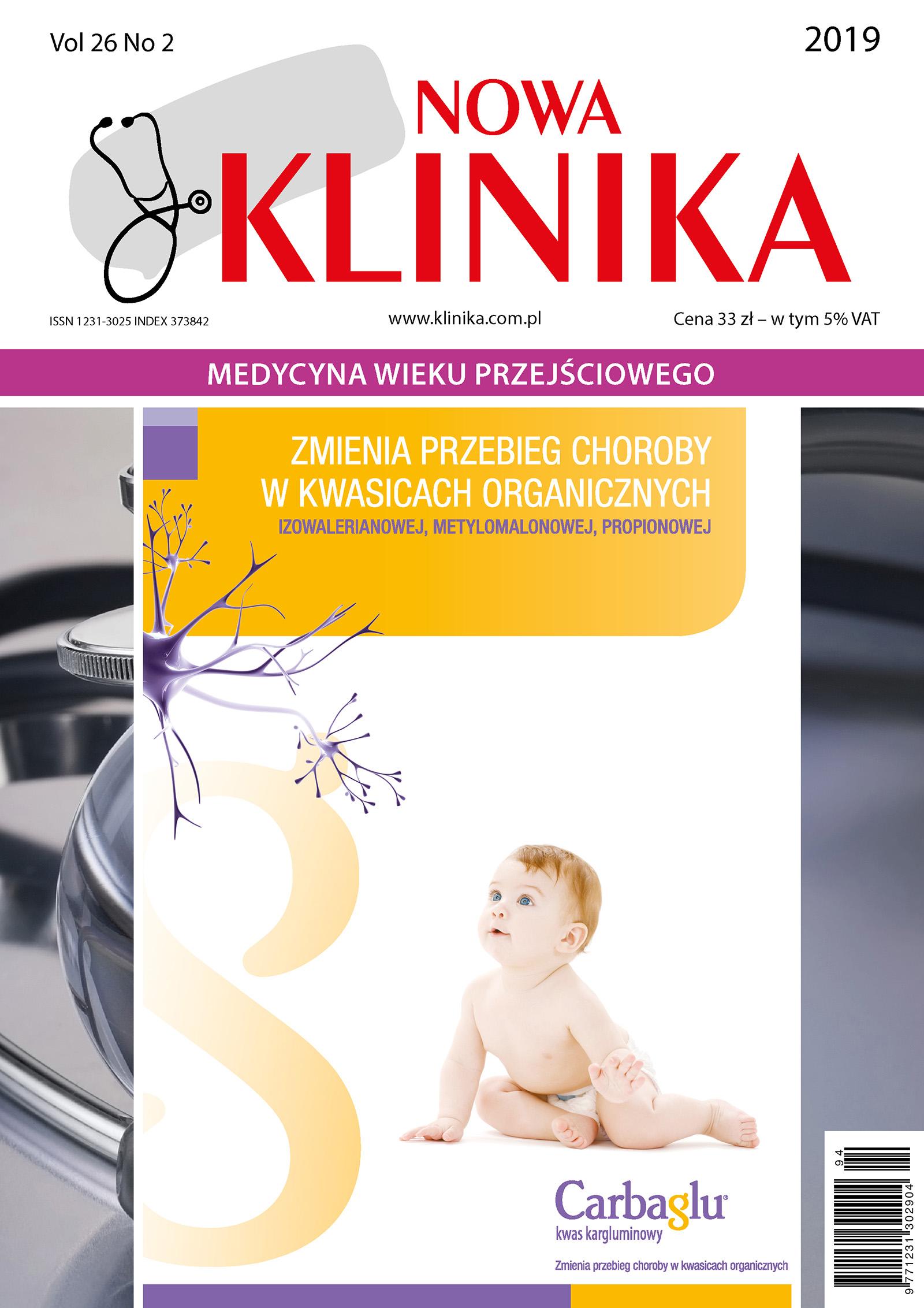 Klinika Nowa 2/2019 - Medycyna wieku przejściowego