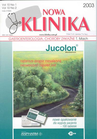 KN 2003/01-02 - Gastroenterologia, Choroby zakaźne