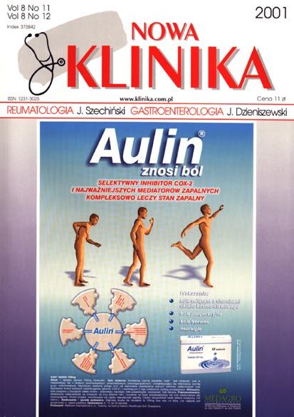 KN 2001/11-12 - Reumatologia, Gastroenterologia