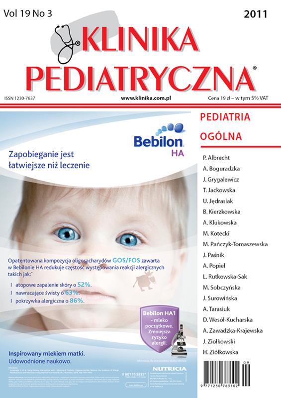 KP 2011/03 - Pediatria Ogólna