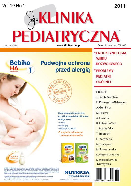 KP 2011/01 - Endokrynologia / Problemy Pediatrii Ogólnej