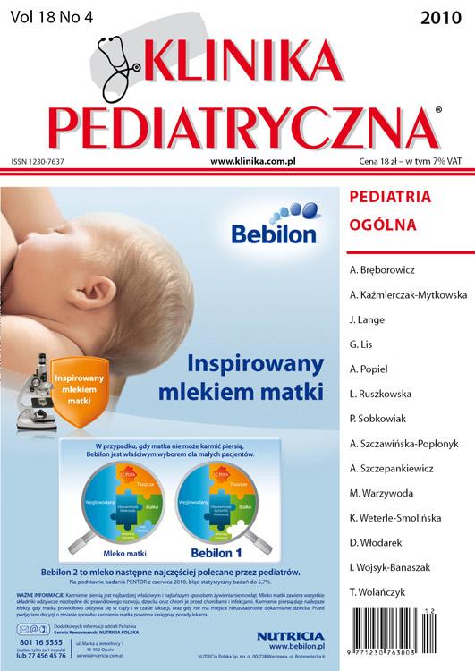 KP 2010/04 - Pediatria Ogólna