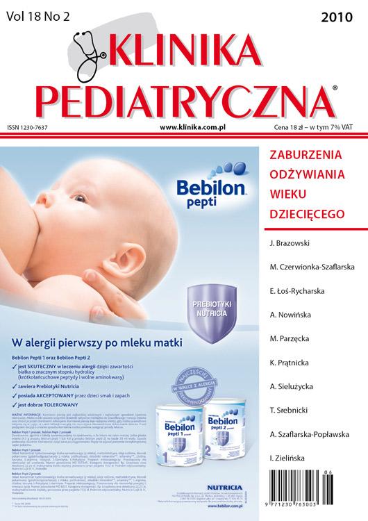 KP 2010/02 - Zaburzenia odżywiania wieku dziecięcego