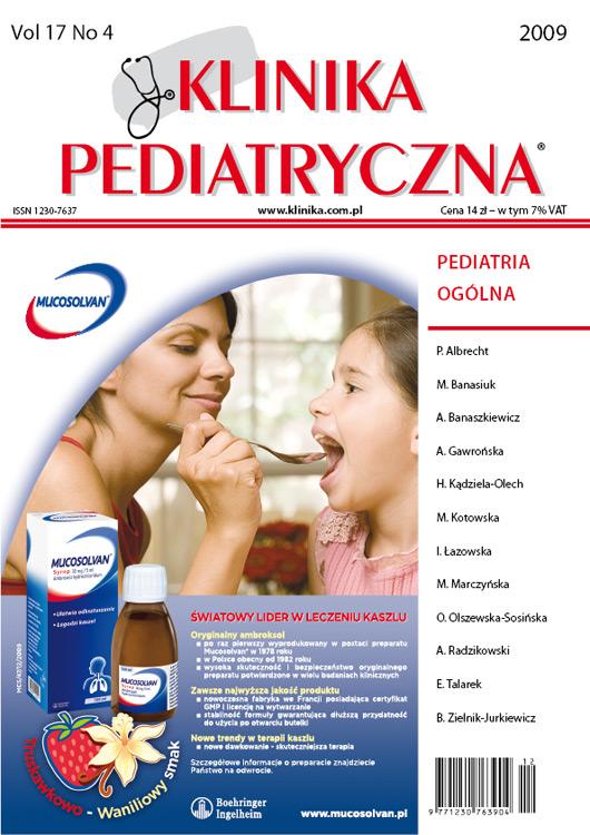 KP 2009/04 - Pediatria Ogólna