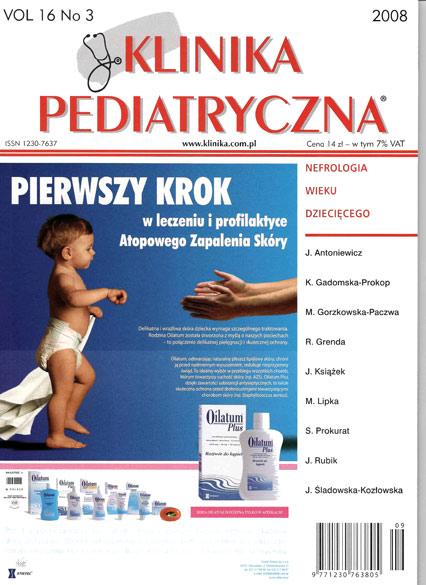 KP 2008/03 - Nefrologia wieku dzieciecego
