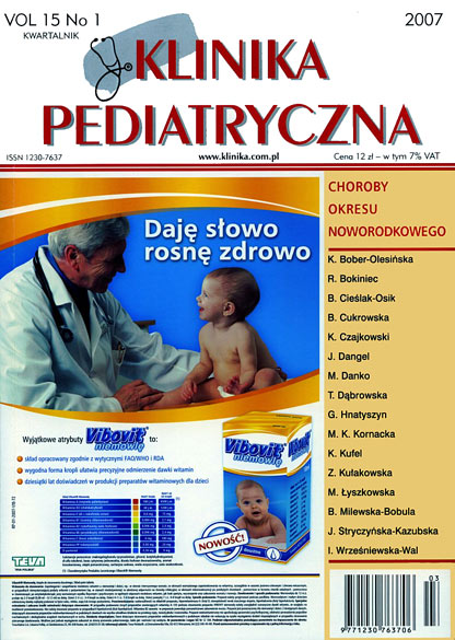 KP 2007/03 - Gastroenterologia i Żywienie