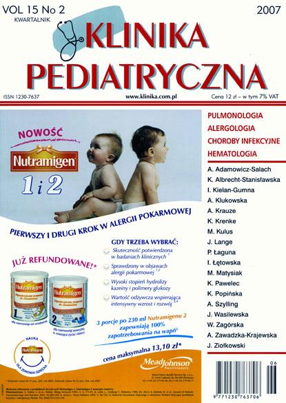KP 2007/02 - Pulmonologia, Alergologia, Choroby infekcyjne