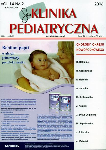 KP 2006/2 - Choroby okresu noworodkowego