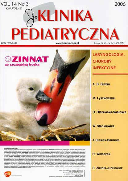 KP 2006/3 - Laryngologia, Choroby Infekcyjne