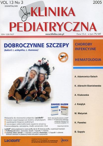 KP 2005/3 - Choroby infekcyjne, Hematologia