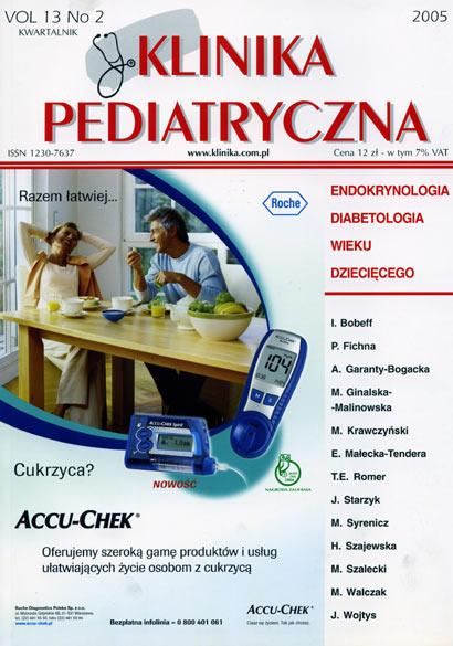 KP 2005/2 - Endokrynologia i Diabetologia wieku dziecięcego