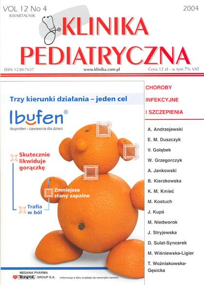 KP 2004/4 - Choroby infekcyjne i szczepienia