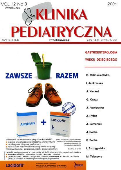 KP 2004/3 - Gastroenterologia wieku dziecięcego